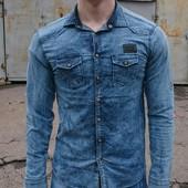 Джинсовые рубашки Philipp Plein,Dsquared