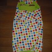 Флисовое одеяло-плед Мorrck в автокресло или коляску