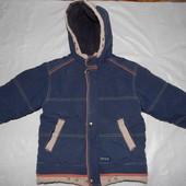 Термокуртка зимняя, р. 110-116, Kiko, очень теплая зимняя куртка