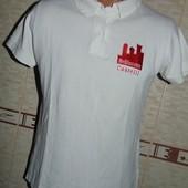 Фирменная стильная тениска футболка Tebram.С-М.Унисекс .