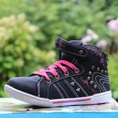 Ботинки высокие 3 цвета Т6622