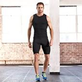 Мужские спортивные облегающие шорты от немецкого производителя Tchibo TCM.