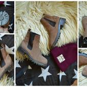 Крутые ботинки на тракторной подошве Esprit,р-р 37