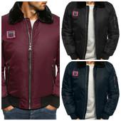 Мужская зимняя куртка на резинке