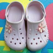 Crocs для девочки J2/4 р-р. 33-34, стелька 21,5-22 см