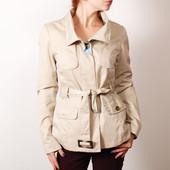 Укороченное бежевое пальто на теплую осень   OW35023  H&M