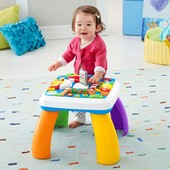 Fisher Price развивающий столик для малыша из серии «Смейся и учись»