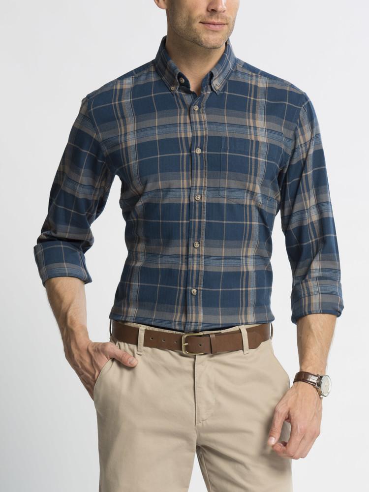 16-115 Мужская рубашка / lc waikiki / Рубашка в клетку / чоловічий одяг фото №1