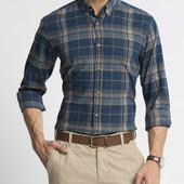 16-115 Мужская рубашка / lc waikiki / Рубашка в клетку / чоловічий одяг