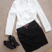джинсовая черная юбка М-ка( tramontana)