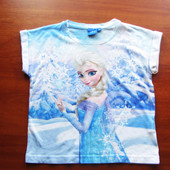 футболка на 7-8 лет. фирма Disney. состояние отличное