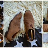 Классические замшевые туфли-дерби,р-р 43