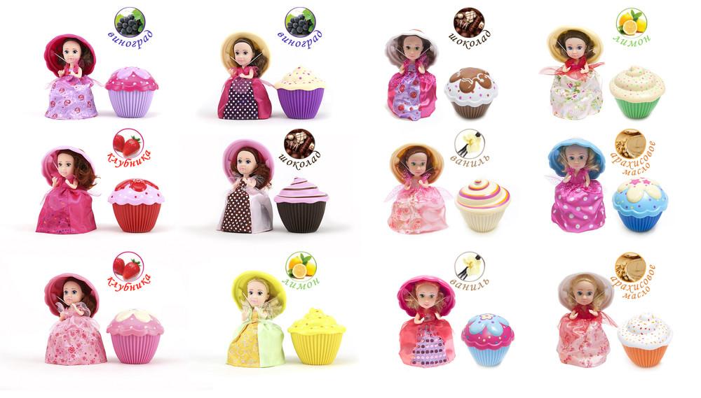 Кукла серии ароматные капкейки, второй сезон фото №1