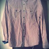 класная мужская рубашка размер М