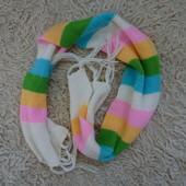 Яркий прикольный цветной шарф