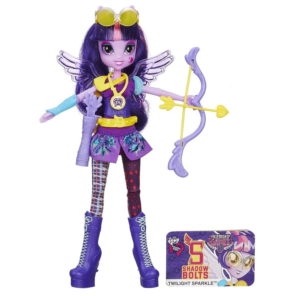 Лучница твайтлайт my little pony equestria girls archery twilight sparkle doll фото №1