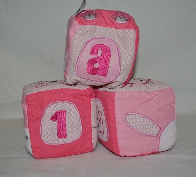Детские развивающие кубики шуршалки погремушки мазекеа mothercare фото №1
