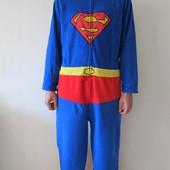 Человечек флис для дома Superman р. 50-52