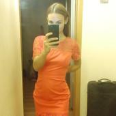 Платье с ажурными элементами Oasis 10/36 состояние нового