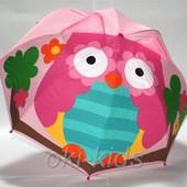 Детский зонтик 3D ушки. Сова.