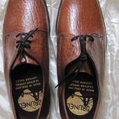 Туфли мужские натуральная экзотическая кожа Brunel Англия 8 27 см