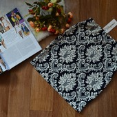 Юбка-мини с принтом. 9 расцветок, реальные фото