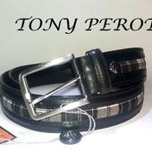 Ремень Кожаный Tony Perotti Италия - доставка бесплатно