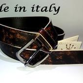 Ремень Кожаный Pelle Italiana made in italy. Доставка безплатно