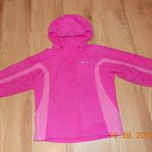 Демисезонная термокуртка Mountain warehouse для девочки 7-8 лет, 122-128 см