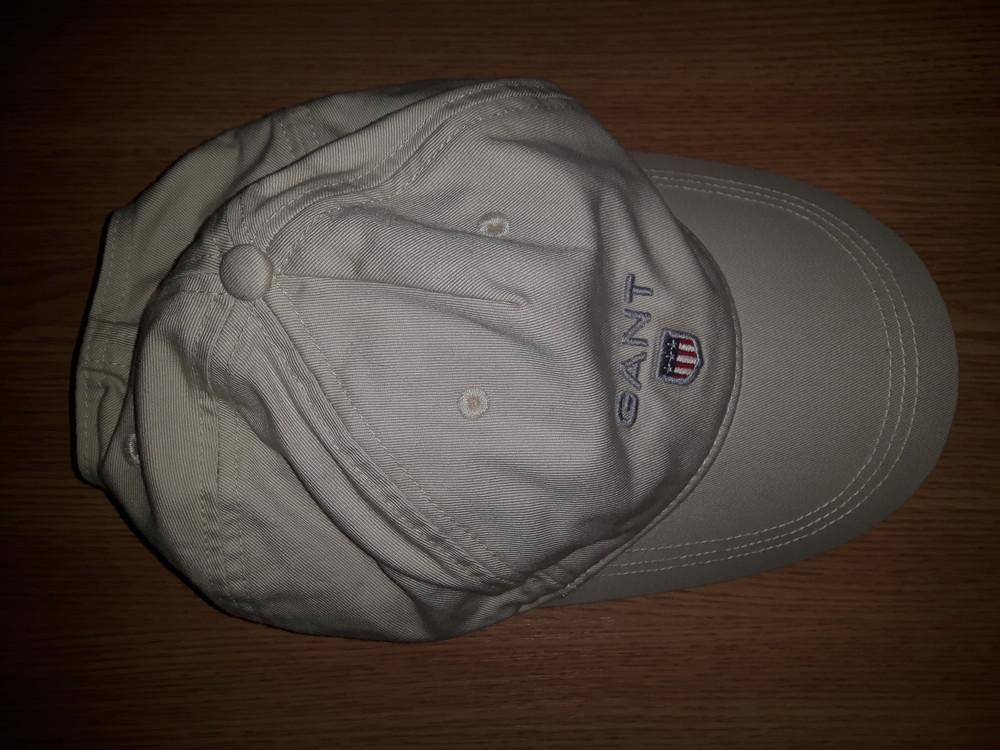 Отличная брендовая кепка бейсболка от gant! оригинал! фото №1 ad367b4d17800