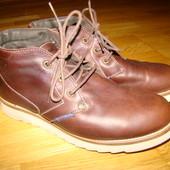 Суперовые кожаные ботинки Diesel оригинал р.40 26 см по стельке