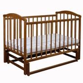 Laska Чайка детская кроватка без ящика с маятником