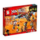 Конструктор Ninjago, Ninja, Ниндзяго, Робот-спасатель 465 деталей