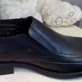 Шкіряні брендові туфлі Structure