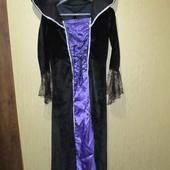 Женское велюровое красивое карнавальное платье  на Хеллоуин на Halloween (хэлоуин)