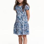 Платья Н&М для девочек 4-10 лет