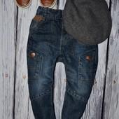 Очень крутые фирменные джинсы модникам 2 - 3 года 92 - 98 см