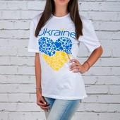 Расцветки! Футболка с украинской символикой