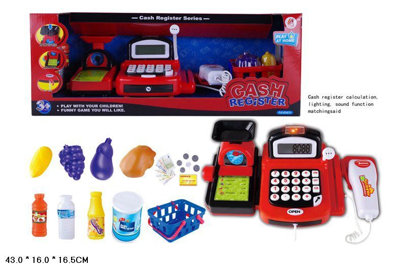 Кассовый аппарат с весами, микрофоном и сканером 8088b фото №1
