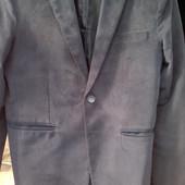 Крутой вельветовый пиджак р. 50
