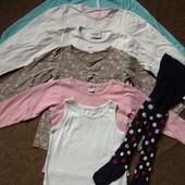 Пакет вещей (7 штук) для девочки ; УП+18 грн
