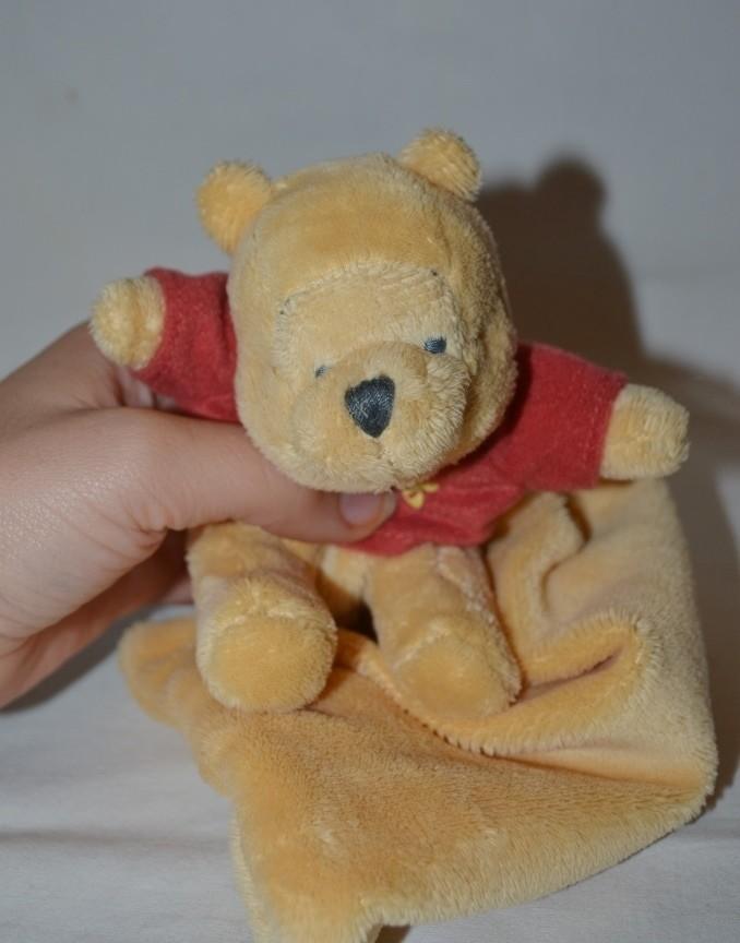 Фирменный комфортер полотенечко салфетка игрушка мишка медведь дисней disney винни пух фото №1