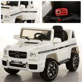Детский электромобиль Джип Mercedes 263EBR-1, белый
