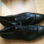 фирменные кожаные туфли 42-43 р UK 9 Lloyd Германия