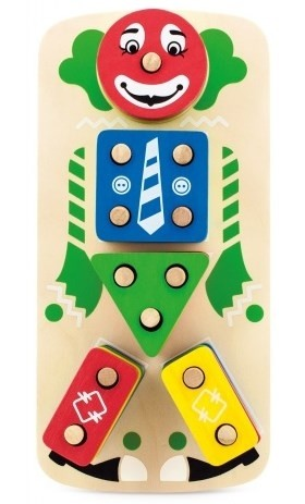 New! пирамидка «клоун», мди (д224) фото №1