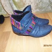 фирменные зимние ботиночки 40р Rieker