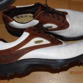 кожаные кроссовки  44 р ст.29,5