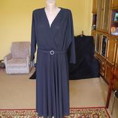 Плаття чорне розмір 16 Debenhams з поясом ПОГ-до 66 см