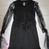 Шикарное маскарадное женское платье летучей мыши размер медиум