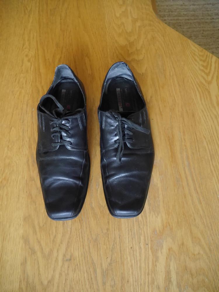Туфлі шкіряні р.45 стелька 31 см conhpol фото №1